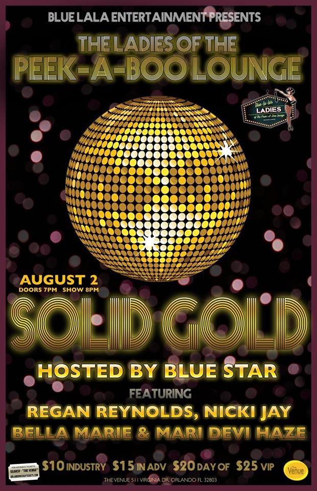 SOLID GOLD Tickets | The Venue | Orlando, FL | Fri, Aug 2 at 7pm